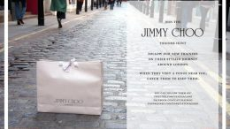 Jimmy Choo - játékos marketing