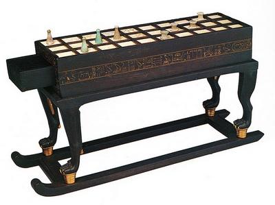 Senet asztalka - Tutanhamon