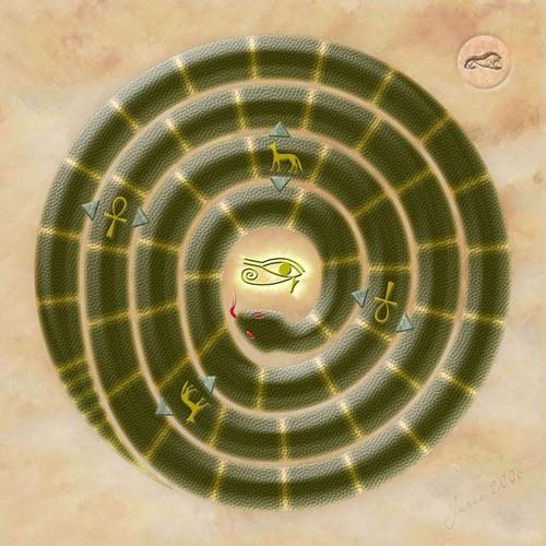 Mehen játék modern verziója